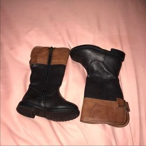 Children's Place Faux Leather Tall Boots